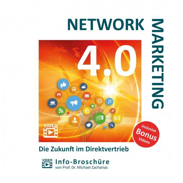 network marketing 4 0 video brosch re network brosch ren fetzer buechershop deutschland. Black Bedroom Furniture Sets. Home Design Ideas