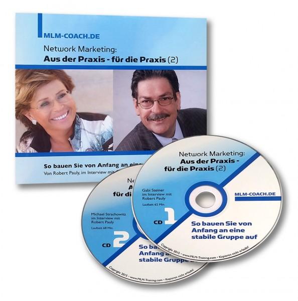 network marketing aus der praxis f r die praxis steiner nr 2 cd network cds fetzer. Black Bedroom Furniture Sets. Home Design Ideas